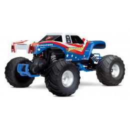 Traxxas Monster Truck Bigfoot 2wd Brushed TQ iD RTR 36084-1