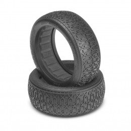 "Jconcepts Pneus Buggy 1/10 Avant 4wd (60mm) Dirt Web 2.2"" Clay 3105-05"