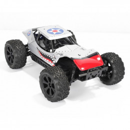 Bsd-Racing Dune Racer Rollcage 4wd Silver Shark Limited Edition RTR BSD218T-SI