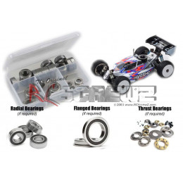 RCScrewz Set de Roulements Flasque Métal Kyosho MP10 KYO185B