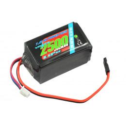 Voltz Batterie de réception 2500mah 2S 7.4V HUMP VZ0271