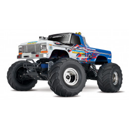 Traxxas Monster Truck Bigfoot Flame 2wd Brushed TQ iD RTR 36034-1-FLME