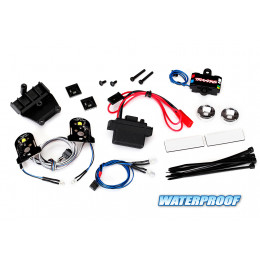 Traxxas Kit complet LED + Alimentation 3V TRX-4 Chevrolet Blazer 8038