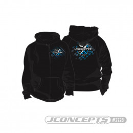 JConcepts Sweat Finish Line Noir M/L/XL 2728