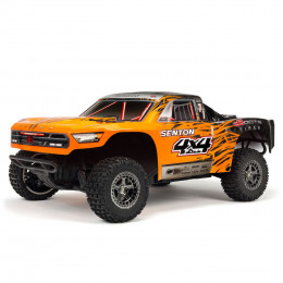 Arrma ​​Short Course Senton 4x4 3S BLX RTR Orange/Noir ARA102721T2