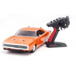 Kyosho Fazer MK2 Readyset Dodge Charger 1970 OR 34417T1B