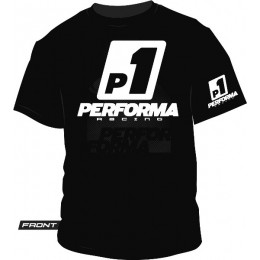 Performa T-Shirt Racing Noir S à XXXL