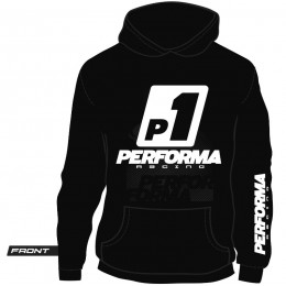 Performa Hoodies Racing Noir S à XXXL