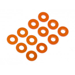 Hot Bodies Set Entretoise Aluminium Orange 0.5/1mm (12 Pcs) 112794