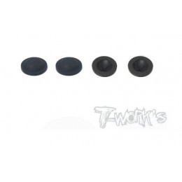 T-Work's Membrane d'Amortisseur Type Nid d'Abeille 16mm (x4) TO-276-A