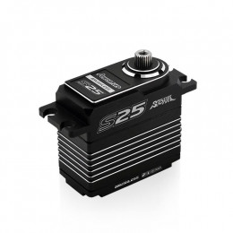 Power HD Servo S25 BRUSHLESS BOITIER ALU SSR HV (25KG/0.06SEC)