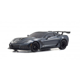 Kyosho Mini-Z RWD Chevrolet Corvette ZR1 Shadow Gris Shadow + KT531P RTR 32334GM