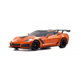 Kyosho Mini-Z RWD Chevrolet Corvette ZR1 Shadow Orange Sebring + KT531P RTR 32334OR
