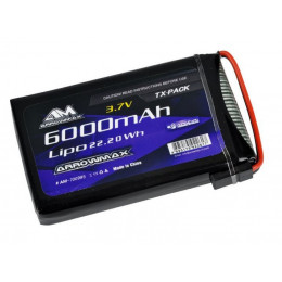 Arrowmax Batterie Lipo 6000mAh 3.7V Radio Sanwa M17 AM700995