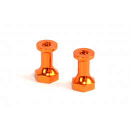 Exotek Entretoise Aluminium Orange 12mm (x2) 1412