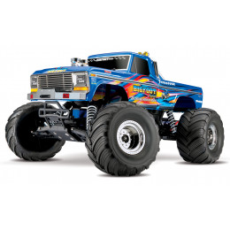 Traxxas Monster Truck Bigfoot Retro Ford 2wd Brushed TQ iD RTR 36034-1-BLUEX