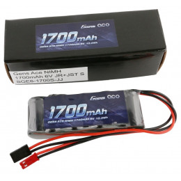 Gens Ace Accu de Réception Straight Nimh 6V 1700mAh