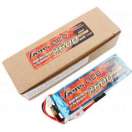 Gens Ace Accu de Réception Straight Lipo 7.4V 2600mAh
