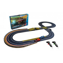 Scalextric Circuit Standard American Police Chase C1405P