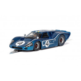 Scalextric Voiture Ford GT MKIV Le Mans 1967 Standard C4031