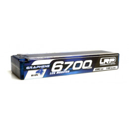 LRP Accu Lipo HV Graphene 4 LCG Modified 7.6V 6700mAh 135C/65C 431271