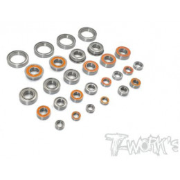 T-Work's Kit roulements 24pcs RC8B3.1 BSS-RC8B31