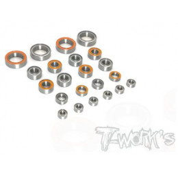 T-Work's Kit roulements 22pcs Xray T4 2020 BSS-T4
