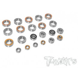 T-Work's Kit roulements 22pcs Xray XB4 BSS-XB4