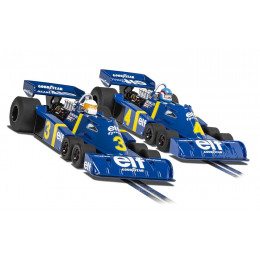 Scalextric Twin Pack Tyrell P34 1976 Limited Edition (x2) Standard C4084A