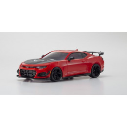 Kyosho Mini-Z RWD Chevrolet Camaro ZL1 Shadow Red Hot + KT531P + LED RTR 32339R