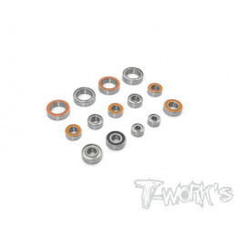 T-Work's Kit roulements 14pcs Xray XB2C 2020 BSS-XB2C