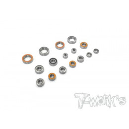 T-Work's Kit roulements 16pcs Xray XB2D 2020 BSS-XB2D