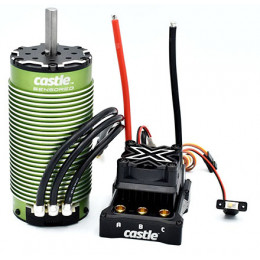 CASTLE Combo Mamba Monster X 8S + 2028 800kV Sensored
