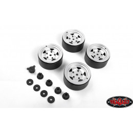 RC4WD Jantes 2.2 Beadlock Center Caps (x4) VVV-C1013