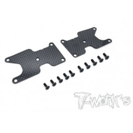 T-Work's Renforts Triangles Carbone Arrière Team Asso RC8B3.2 (x2) TO-0246-B3.2-R