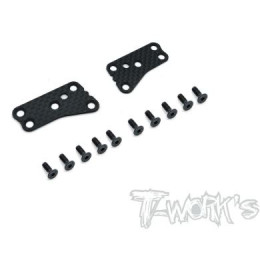 T-Work's Renforts Triangles Carbone Supérieurs Team Asso RC8B3.2 (x2) TO-0246-B3.2-UF