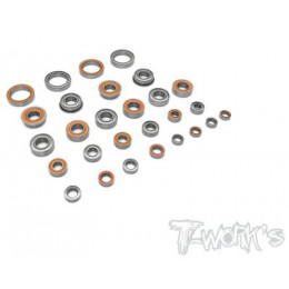 T-Work's Kit roulements 28pcs RC8B3.2 BSS-RC8B3.2