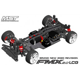 MST FMX 2.0 LCG Version RWD 1/10 KIT 532191