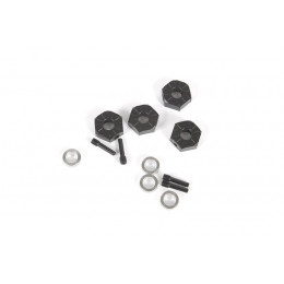 Axial Hexagones 12mm (x4) AXI232018