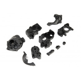 Axial Couvercle de Transmission SCX10 III AXI232029