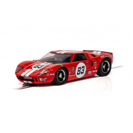 Scalextric Voiture Ford GT40 Rouge N°83 Standard C4152
