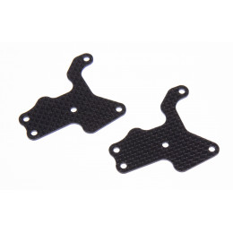 RC CARBON CAVALIERI Renforts Sup de Triangles Inférieurs 1.5mm (x2) Team Associated RC8B3.2 2615