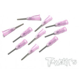 T-Work's Aiguille pour Colle Cyano 1.0mm (x10) TCH-003