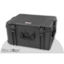 Rocabox Valise Trolley 62x46x34cm IP67 Mousse RW-6246-34-BFTR