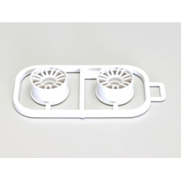 Kyosho Jantes Blanches Mini-Z MR03 Large -1 (x2) MZH131W-W-1