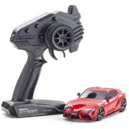 Kyosho Mini-Z MA-020 AWD Toyota GR Supra Prominence Rouge + KT531P RTR 32619R