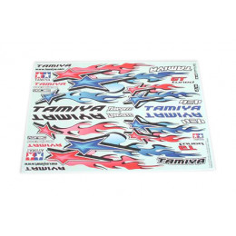 TAMIYA Sticker Star & Fire 53839