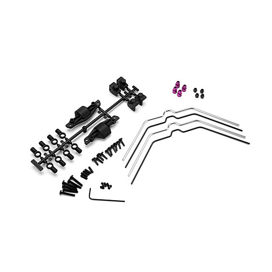 HPI - Set Barre Antiroulis Av/Ar - 102538
