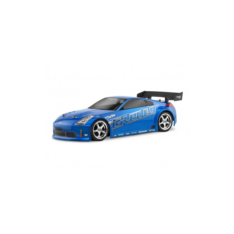 hpi carrosserie nissan 350z greedy 200mm 17518. Black Bedroom Furniture Sets. Home Design Ideas