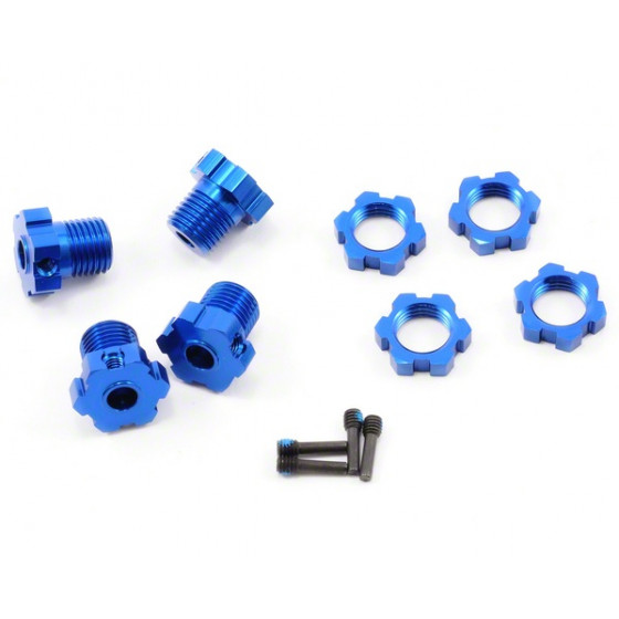 TRAXXAS - Hexagones alu 17mm - 5353X